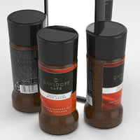 davidoff coffe 3D model