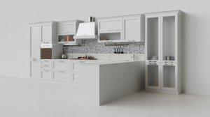 kitchen scene 3D model
