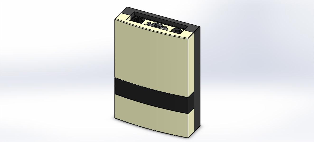 zk-rfid 107 3D model