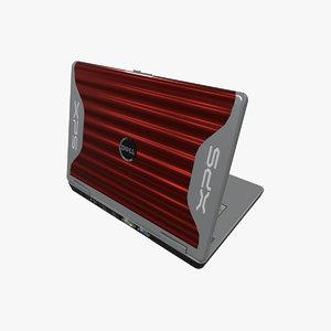 dell xps m1710 3D model