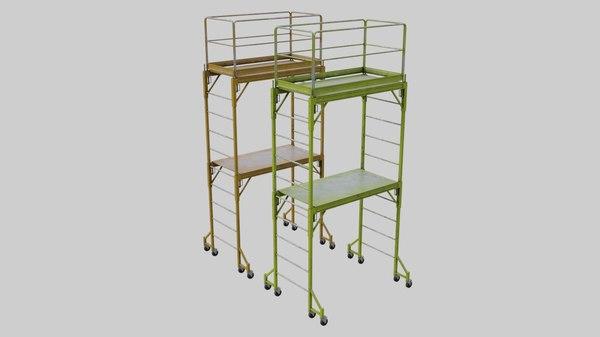 3D scaffold 1a model