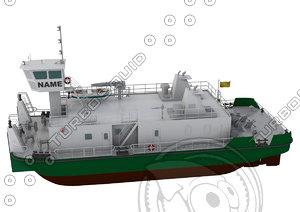 sea boat pusher model