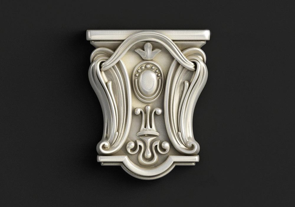 carved 1 3D model