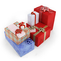 gifts boxes model