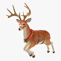 reindeer 01 model