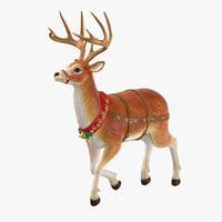3D model reindeer 02
