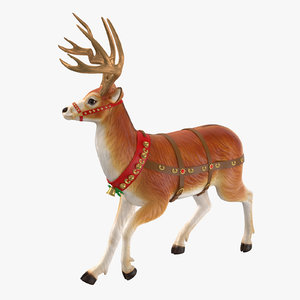 reindeer 03 3D model