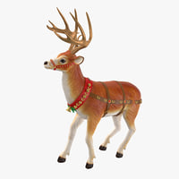 reindeer 05 3D model