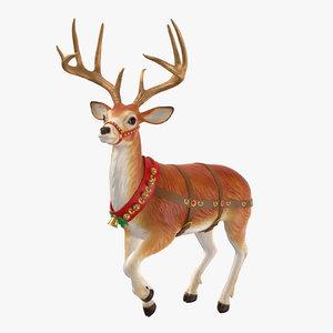 3D reindeer 06 model