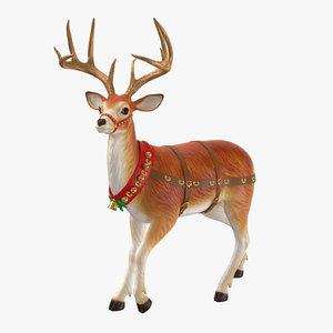 3D reindeer 07
