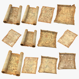 treasure maps 3D
