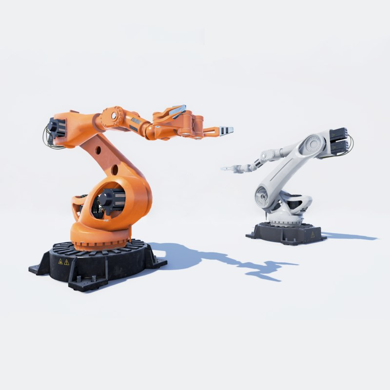 industrial manipulator robot 3D model