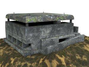 3D bunker