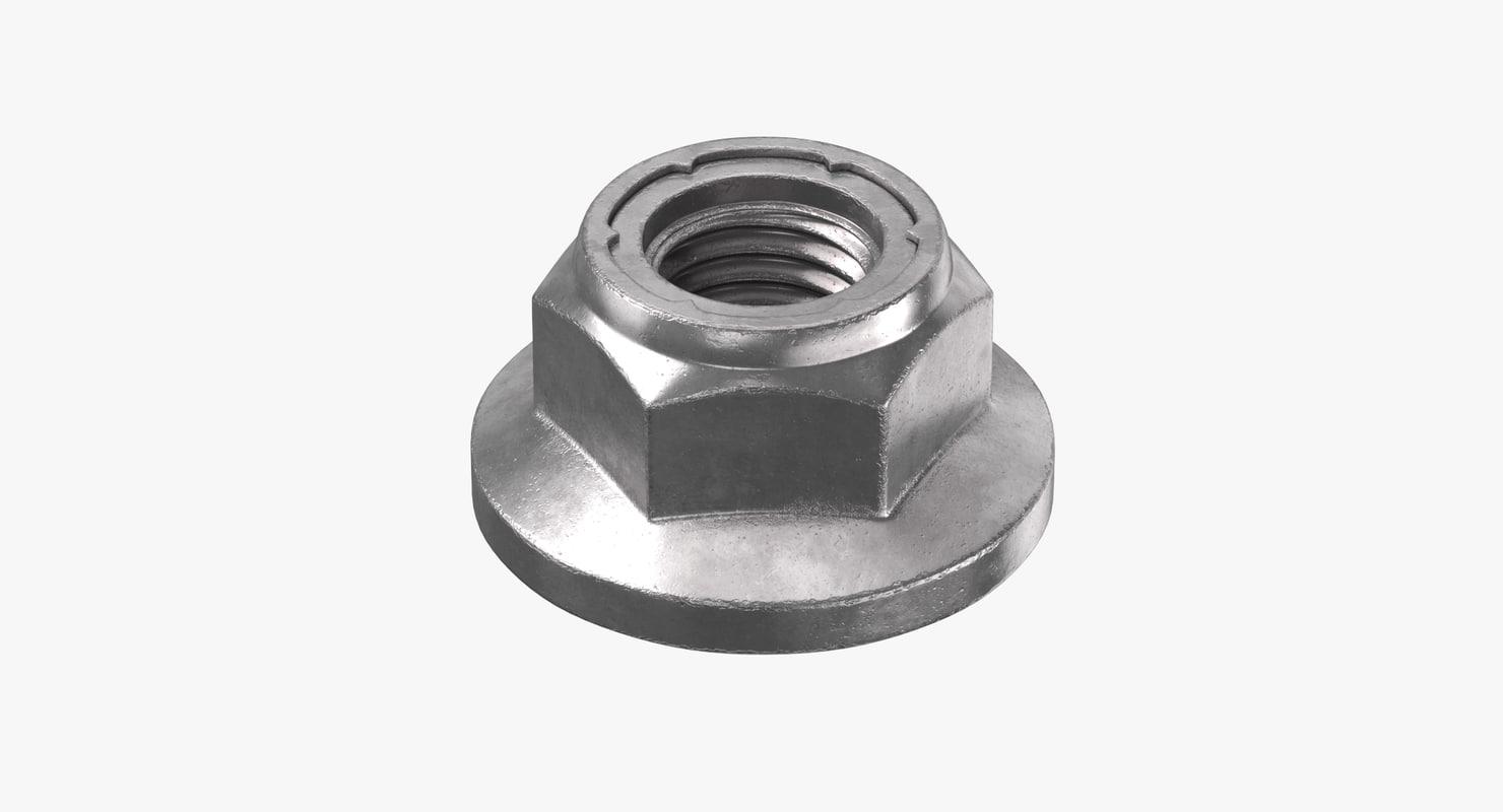 3D screw screws model