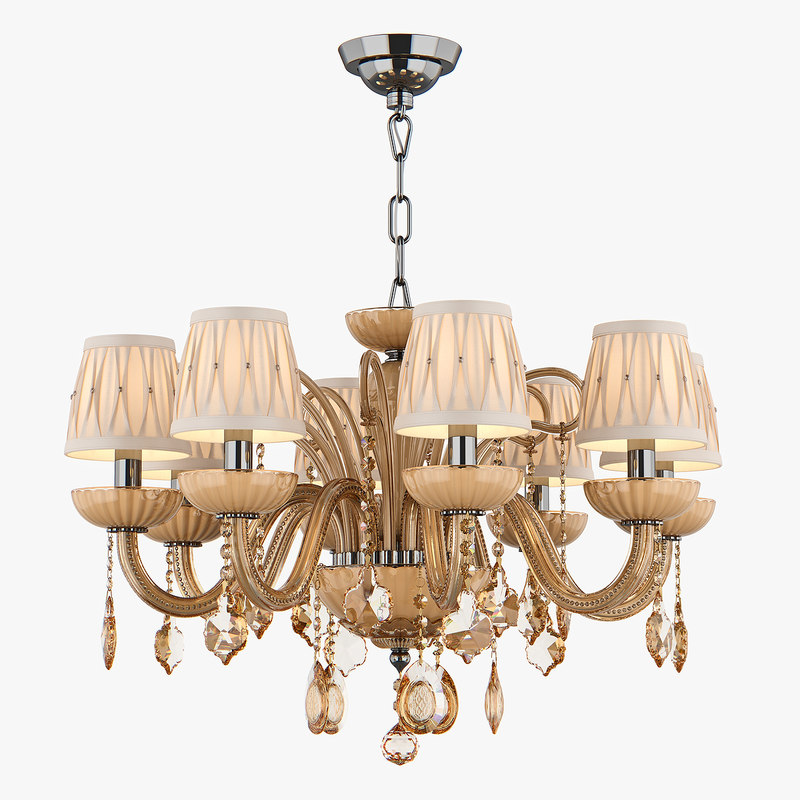 chandelier md 39070-8 osgona 3D model