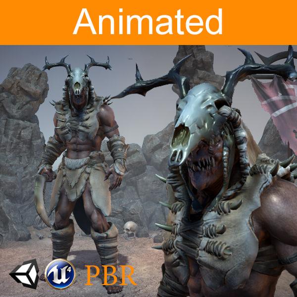 character orc ursag 3D model