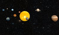 solar-system planet 3D