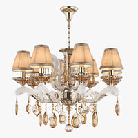 3D model chandelier md 89228-8 osgona