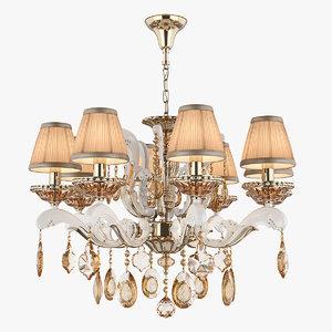 3D model chandelier md 89228-8 osgona