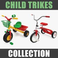 child trikes 3D model