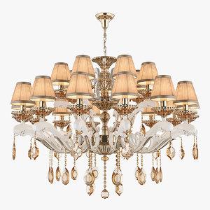 chandelier md 89228-14 7 3D model