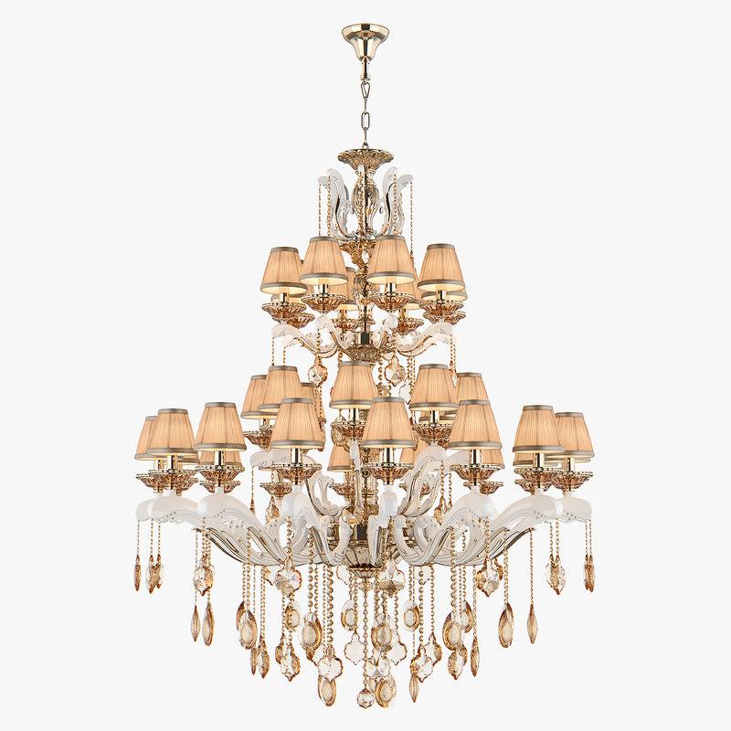 3D chandelier md 89228-32 osgona model