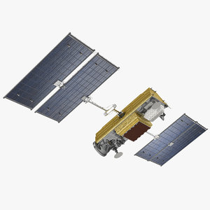 3D communications satellite