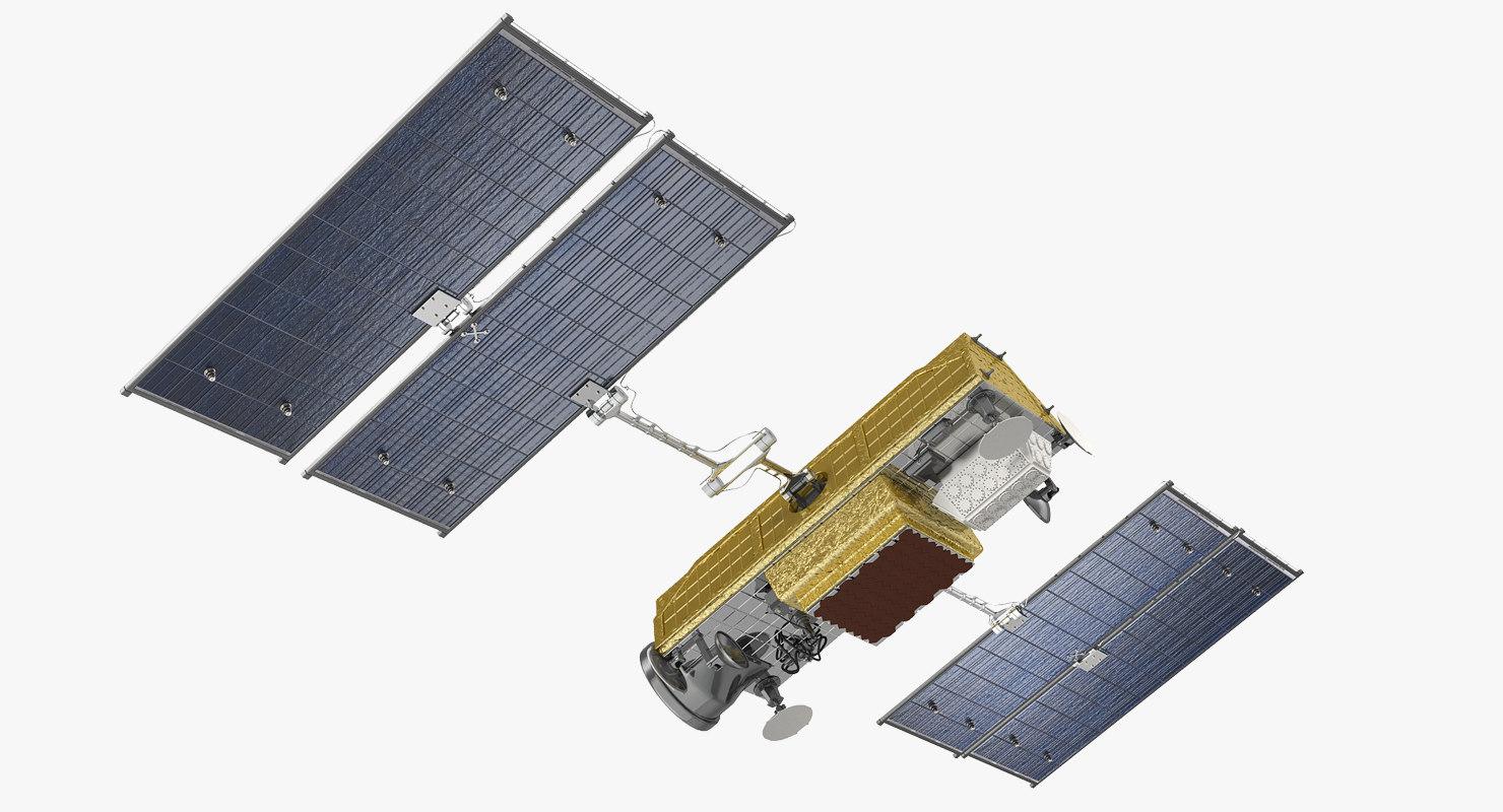 3D communications satellite