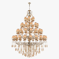 3D model chandelier md 89228-50 osgona