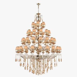 3D model chandelier md 89228-50 osgona