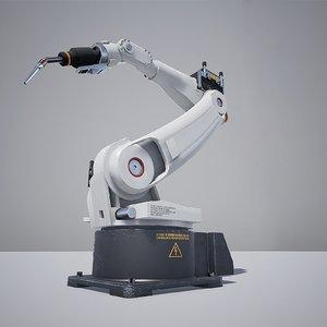 industrial welder robot 3D model