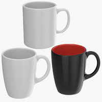 promotional coffee cups mug 3D model