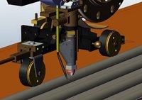 robot welding 3D model