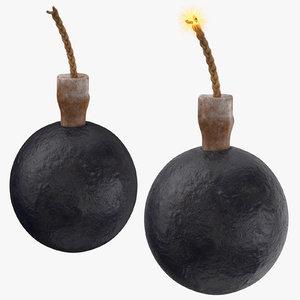 bomb 01 3D model
