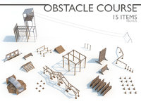 3D obstacle course