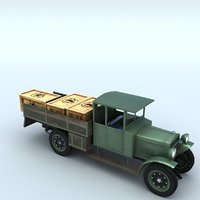3D ursus polish lorries model