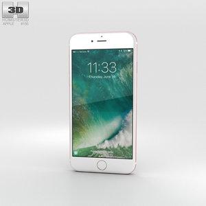 3D iphone apple 7 model