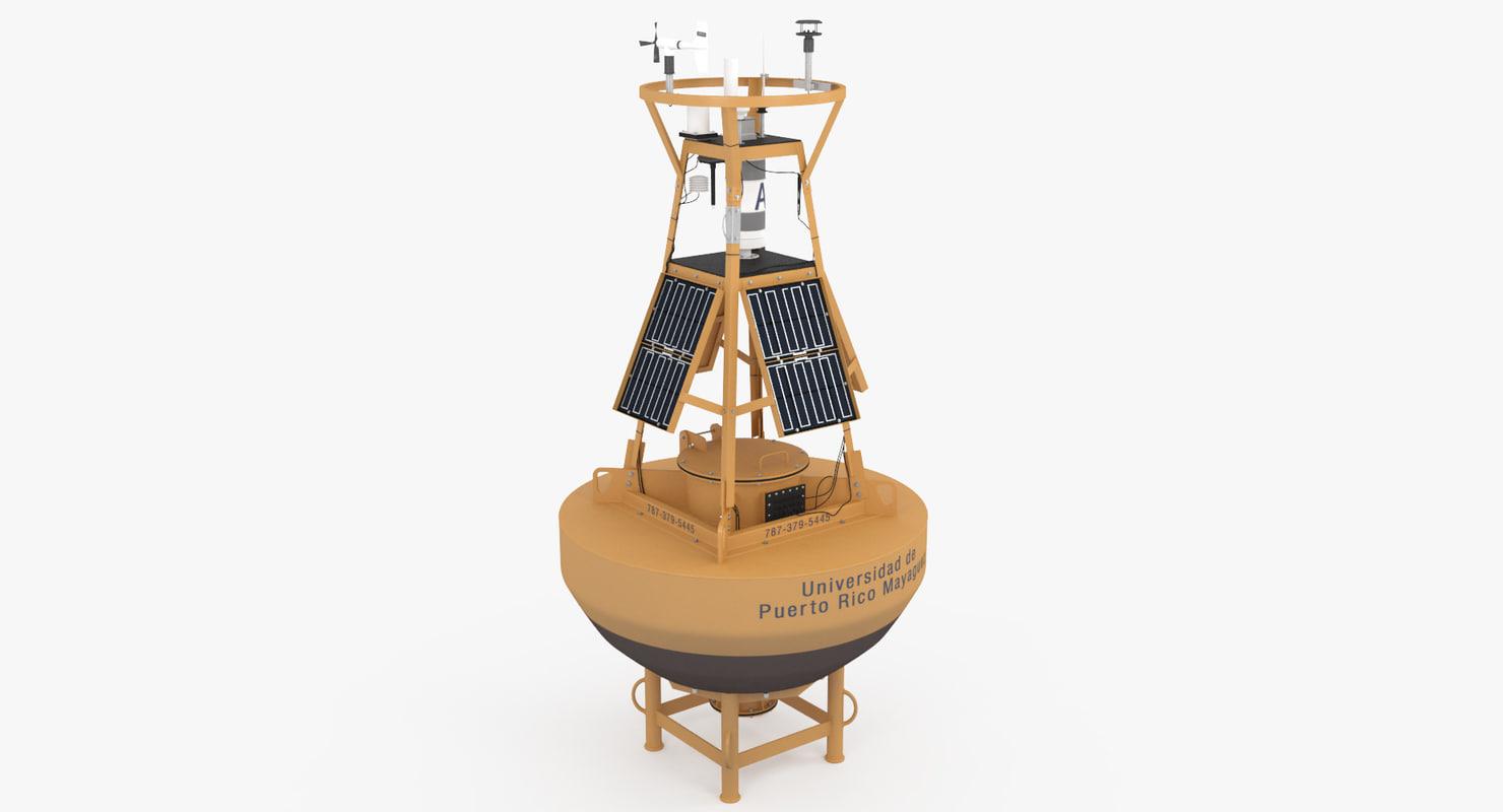 meteorological buoy 3D