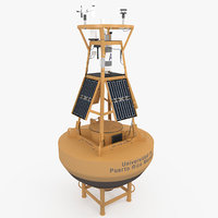 meteorological buoy 3D