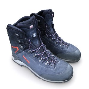 3D model scan lowa hiking boots