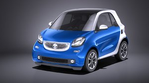 2016 smart fortwo 3D