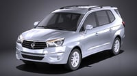 3D 2016 turismo ssangyong
