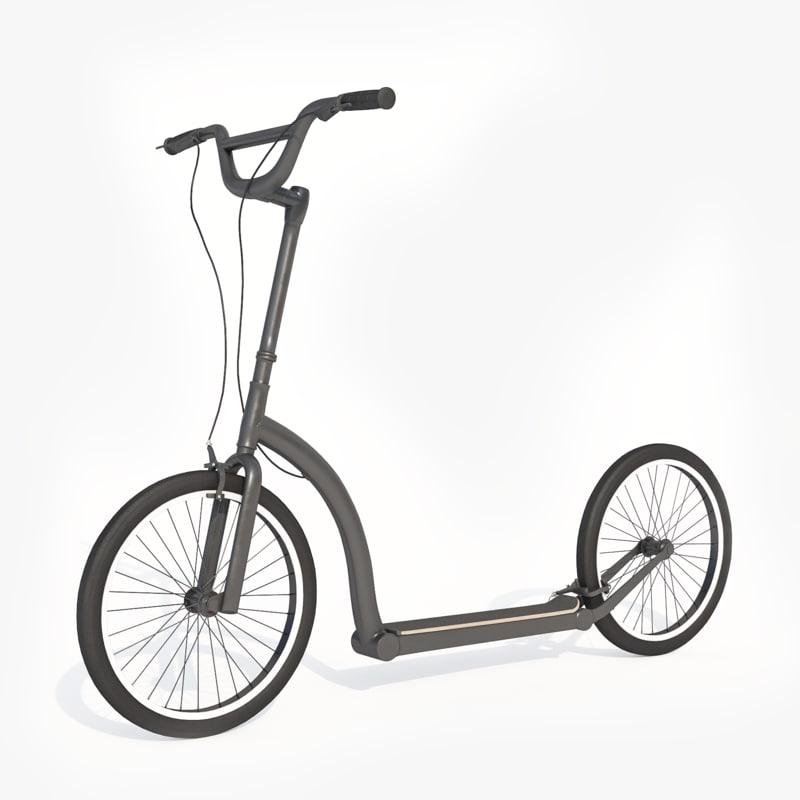 pbr kick scooter model