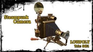 steampunk camera 3D