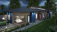 3D casa duplex