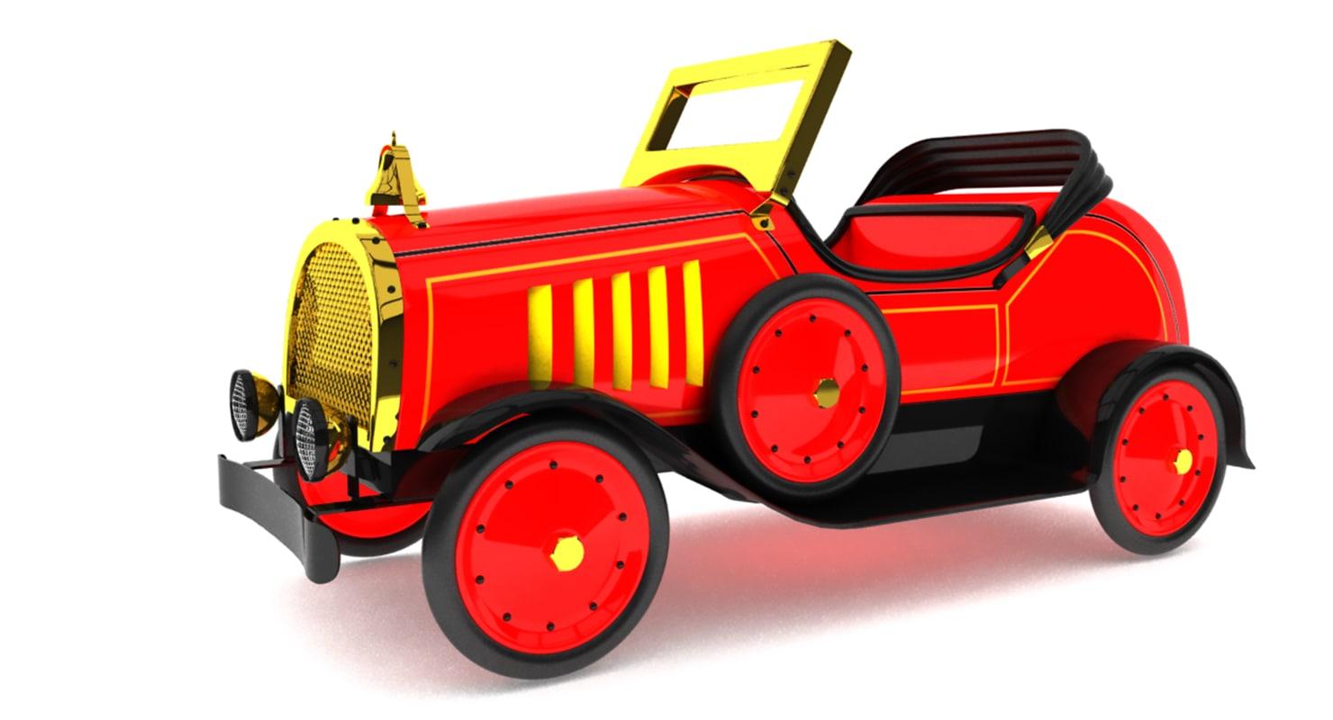 vintage toy car model