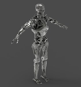 3D terminator hunter model
