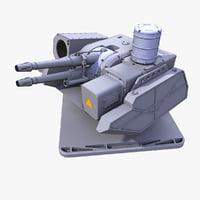 Sci-Fi Light Laser Turret