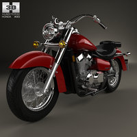 3D honda shadow aero