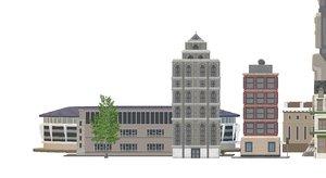 build city 3D model